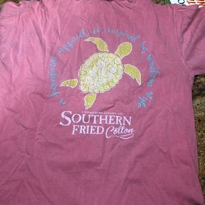 Southern fried cotton t shirt